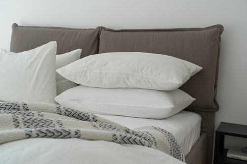 use more pillows to stay warm