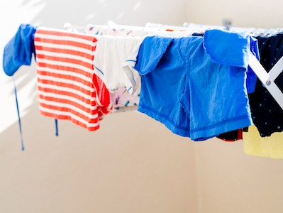 Drying Clothes With A Fan