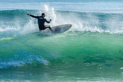 How do you prepare for winter surfing?